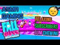 ASMR Gaming 😴 Fall Guys Subscribers Relaxing Gum Chewing 🎧🎮 Controller Sounds + Whispering 💤