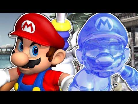 Ein Super Mario Sunshine Multiplayer Abenteuer, vermutlich