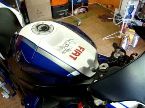 yamaha r1 fiat rossi 2009 con motos boxer youtube. Black Bedroom Furniture Sets. Home Design Ideas