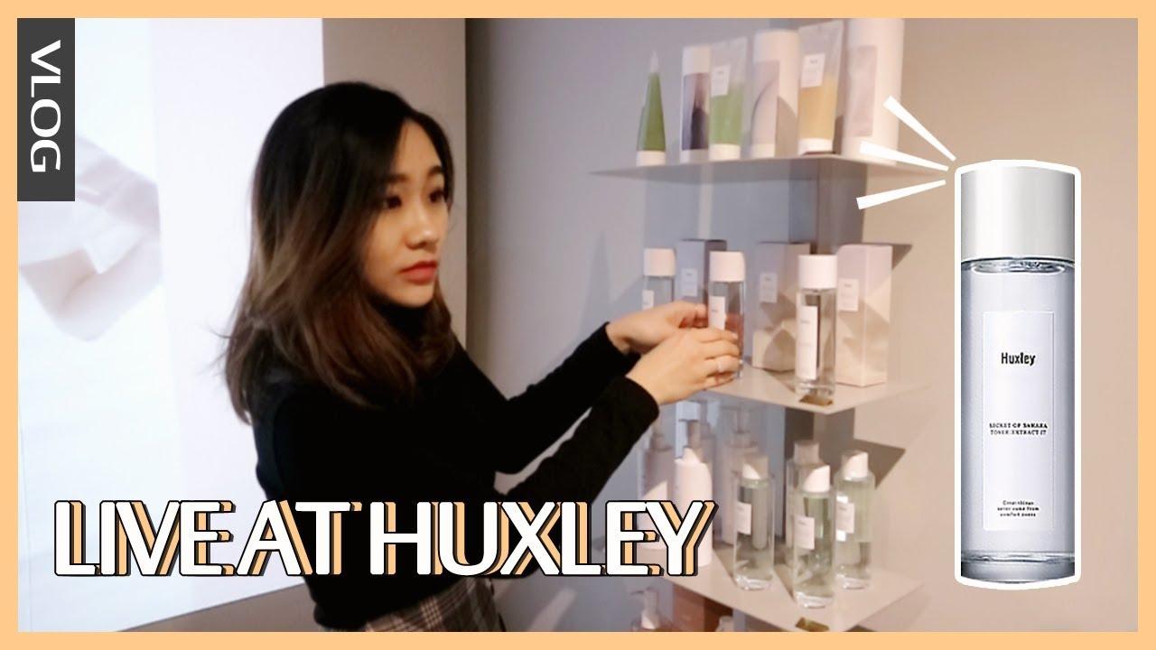[STYLEKOREAN VLOG] Живите в выставочном зале Huxley