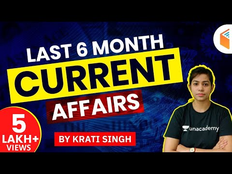 Last 6 Months Current Affairs 2020 | Important Current Affairs MCQ For All Exams | Krati Singh