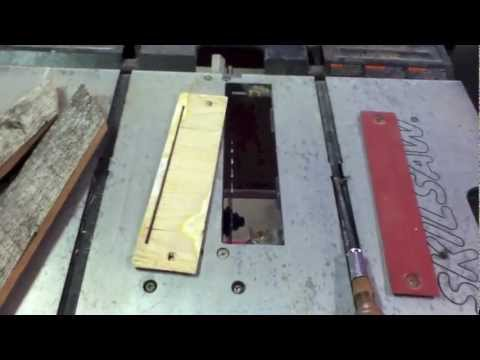 Idiots Guide To Wood Working Cheap Zero Clearance Insert Youtube