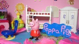 PEPPA PIG Nickelodeon Peppa Design Peppa's Bedroom a BBC & Nick Jr Peppa Video