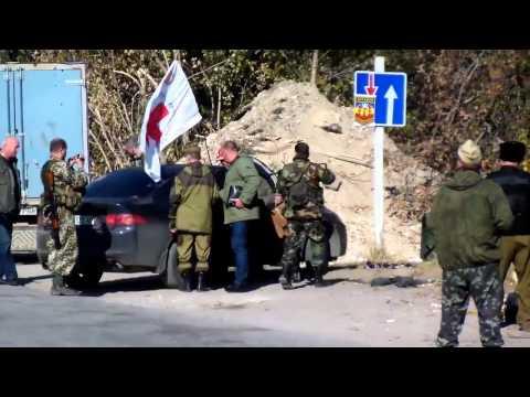 АТО. Обмен пленными в Луганске