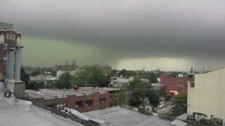 brooklyn tornado micro burst best footage of storm september 16 2010
