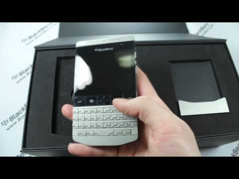 BlackBerry Porsche Design P9981, обзор BlackBerry 9981 видео