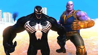 THANOS VS VENOM 😱 - Süper Kahramanlar
