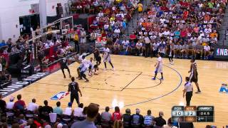 Summer League: Portland Trailblazers vs New York Knicks