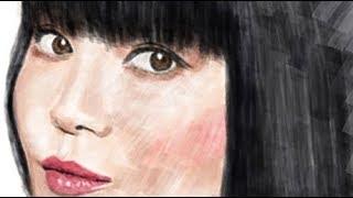 photoshopで観月ありささんの似顔絵を描いてみました。 アーティストの...