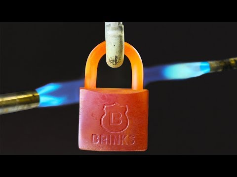 GAS TORCH VS PADLOCK