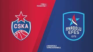 #EuroLeague 23. Hafta: CSKA Moskova - Anadolu Efes
