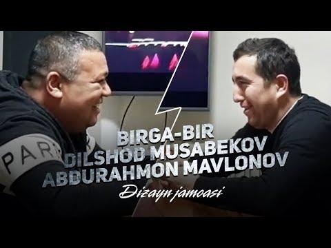 Dizayn jamoasi - Birga-bir Dilshod Musabekov va Abdurahmon Mavlonov