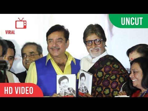 UNCUT - Anything But Khamosh Book Launch   Shatrughan Sinha   Amitabh Bachchan   Sonakshi Sinha