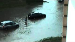 Потоп на улицах Ивацевич
