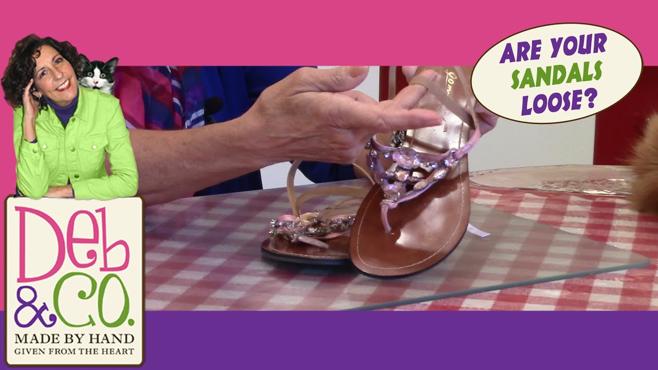 2a013e047cd5 Quick Tip - Are your Sandals too Loose  - YouTube