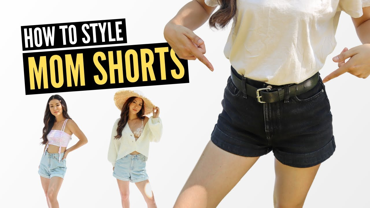 How to Style High Waisted Mom Shorts (PERFECT Summer Outfits)