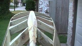 Homemade Boat Building