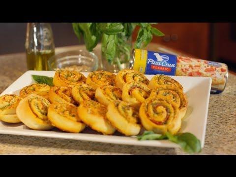 Pillsbury: Pesto Pepperoni Pinwheels