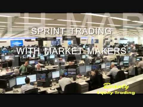 SPRINT TRADING WITH MARKET MAKERS (SEPTEMBER CONF.2013)