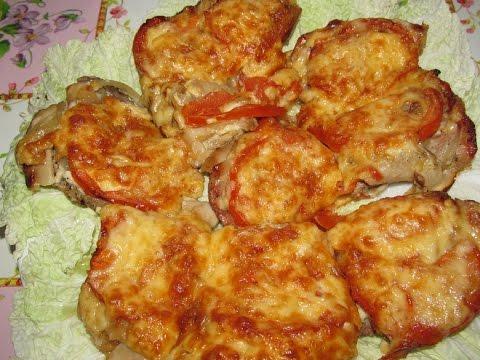 мясо по-французски с мясом и грибами пошаговый рецепт