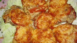 #Вкусно - #МЯСО по Французски с Белыми Грибами #Рецепт.(МЯСО ПО ФРАНЦУЗСКИ С БЕЛЫМИ ГРИБАМИ - необычайно вкусное блюдо, ведь со вкусом и ароматом белых грибов,..., 2015-01-20T21:39:12.000Z)