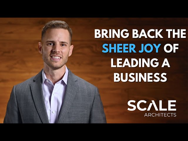 How to bring back the sheer joy of owning and leading a business