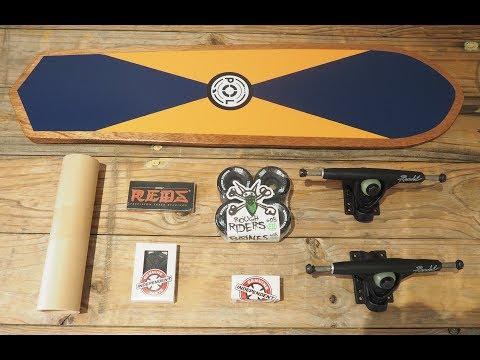 Making a Wooden Cruiser Skateboard