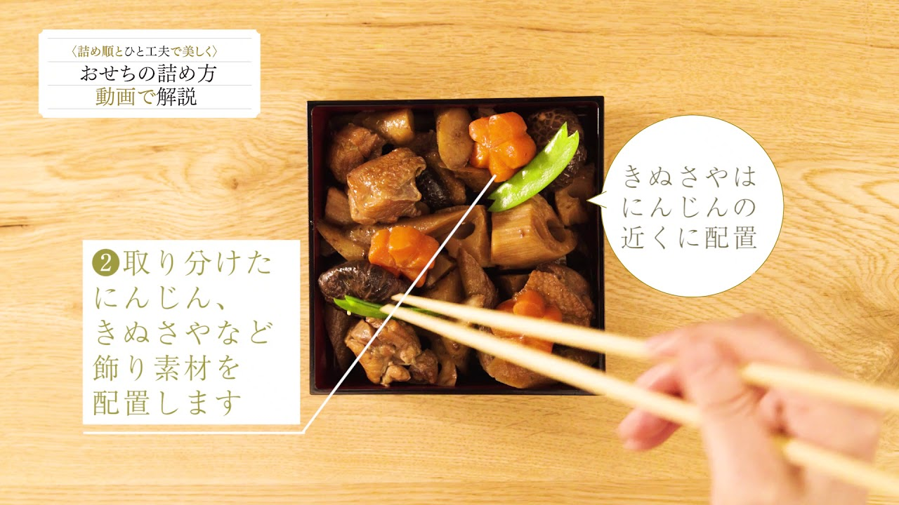 方 おせち の 詰め おせち料理の重箱への詰め方~3段、5段、2段、タイプ別に解説~