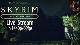 Skyrim Special Edition, Live Stream in 1440p/60fps! Mzinchaleft, Lvl 31, Part 21