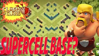 Clash of Clans - HIDDEN SUPERCELL BASE DESIGN?! | WITH REPLAYS