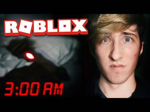 DO NOT PLAY ROBLOX AT 3AM CHALLENGE!! (omg a horse!) | Roblox Horror Games