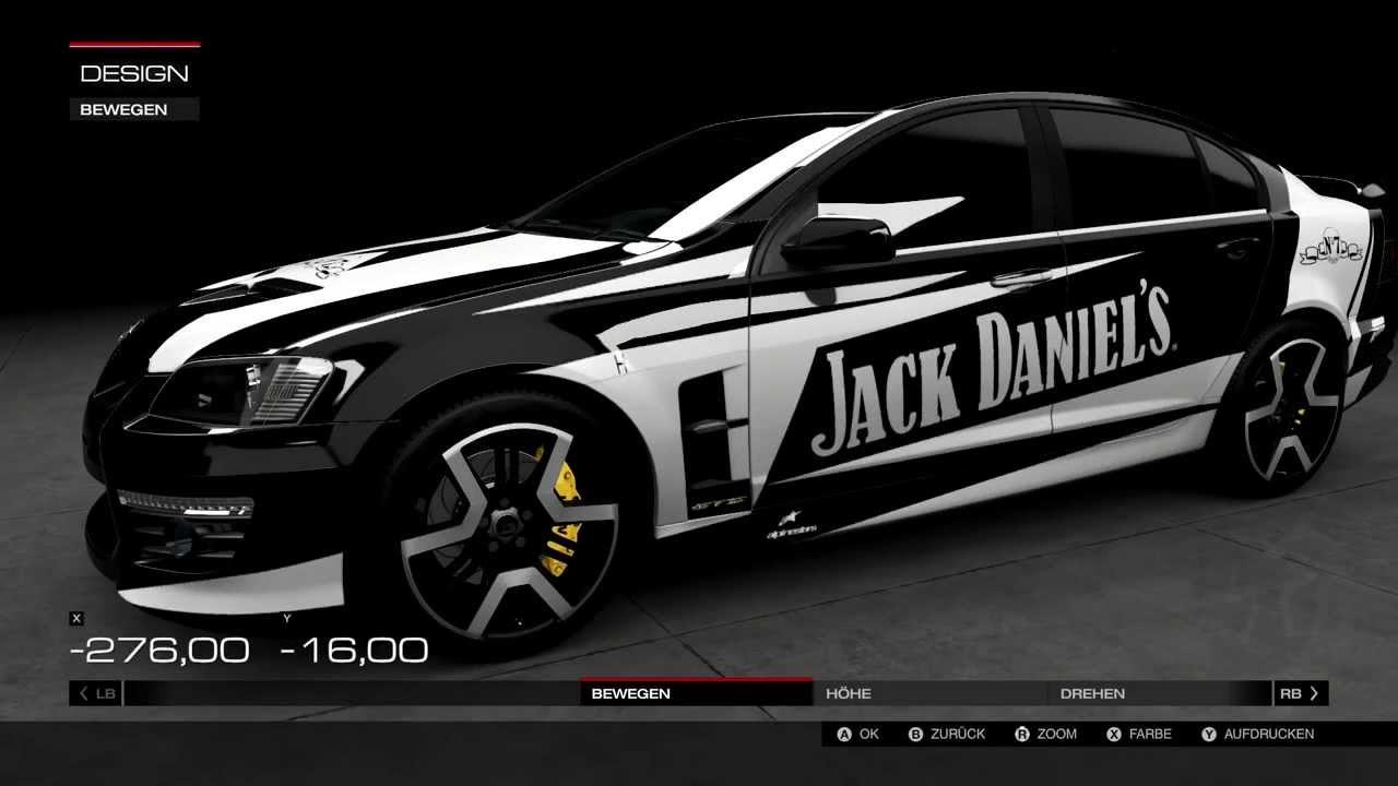 Design of car jack - Forza 5 Holden Hsv Gts Jack Daniel S Design Speed Art Speed Paint