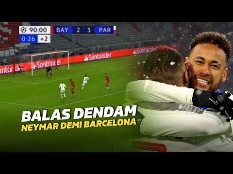 MUNCHEN HANCUR🔥Lihat Aksi Aksi Jenius Neymar Jr \u0026 Mbappe Saat Permalukan Bayern Munich Semalam