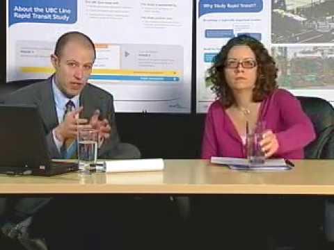 UBC Line Rapid Transit Study Webinar - April 4, 2011