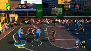 Heat vs Thunder - WIP NBA Street 2K14 Mod for PC (Raw Gameplay)