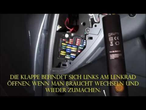 Audi A4 B9 >> Audi A4 Bj ab 2004-2008 Sicherungskasten finden. - YouTube