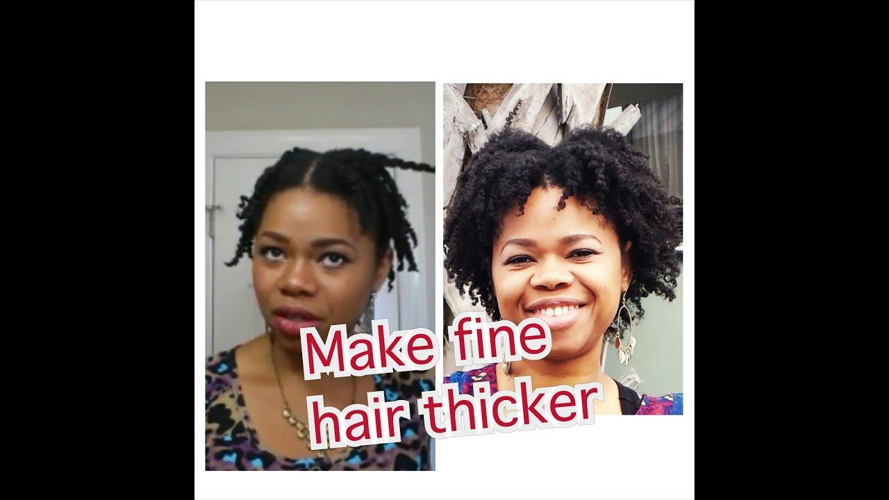 "make fine ""thin"" natural"