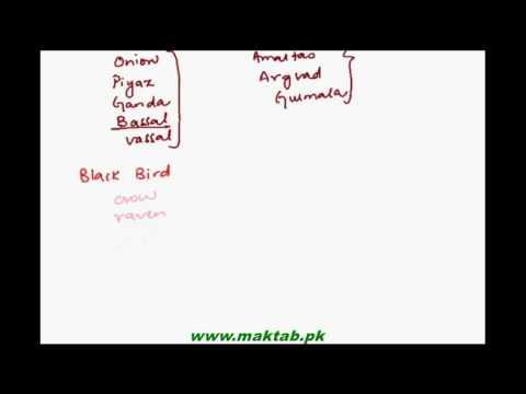 FSc Biology Book1, CH 5, LEC 2: Binomial Nomenclature