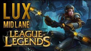 NEW RUNES LUX IS FREE ELO | MID LANE BUILD | MOST BROKEN | LUX MID SEASON 8 RANKED League of Legends