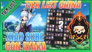 "TIER LIST CHINA ""ACTUALIZADA"" Usagi Sensei GENSHIN IMPACT gameplay español | NEXER"