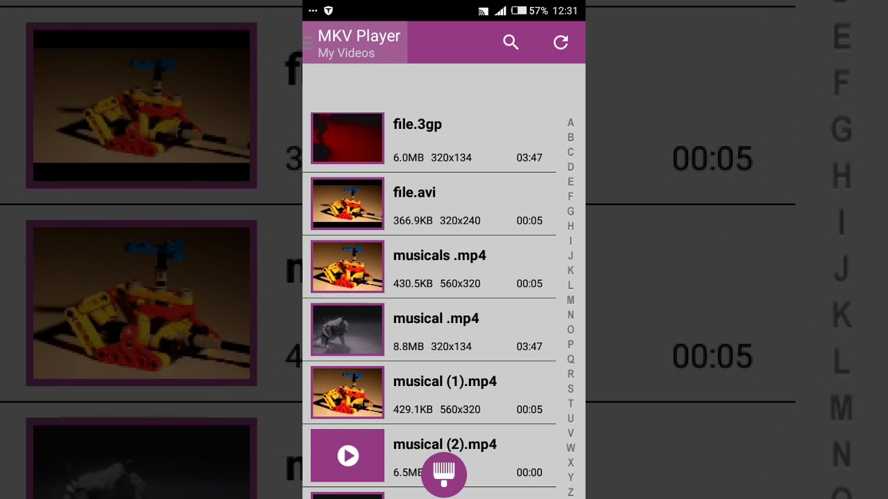 How to play mkv files on android - YouTube