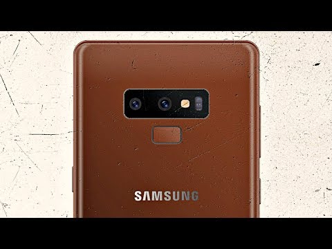 Samsung Galaxy Note 9 - TEDDY BROWN LOOK!