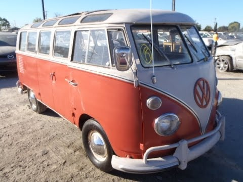 Volkswagen 21 window microbus project selling at auction for 18 window vw bus