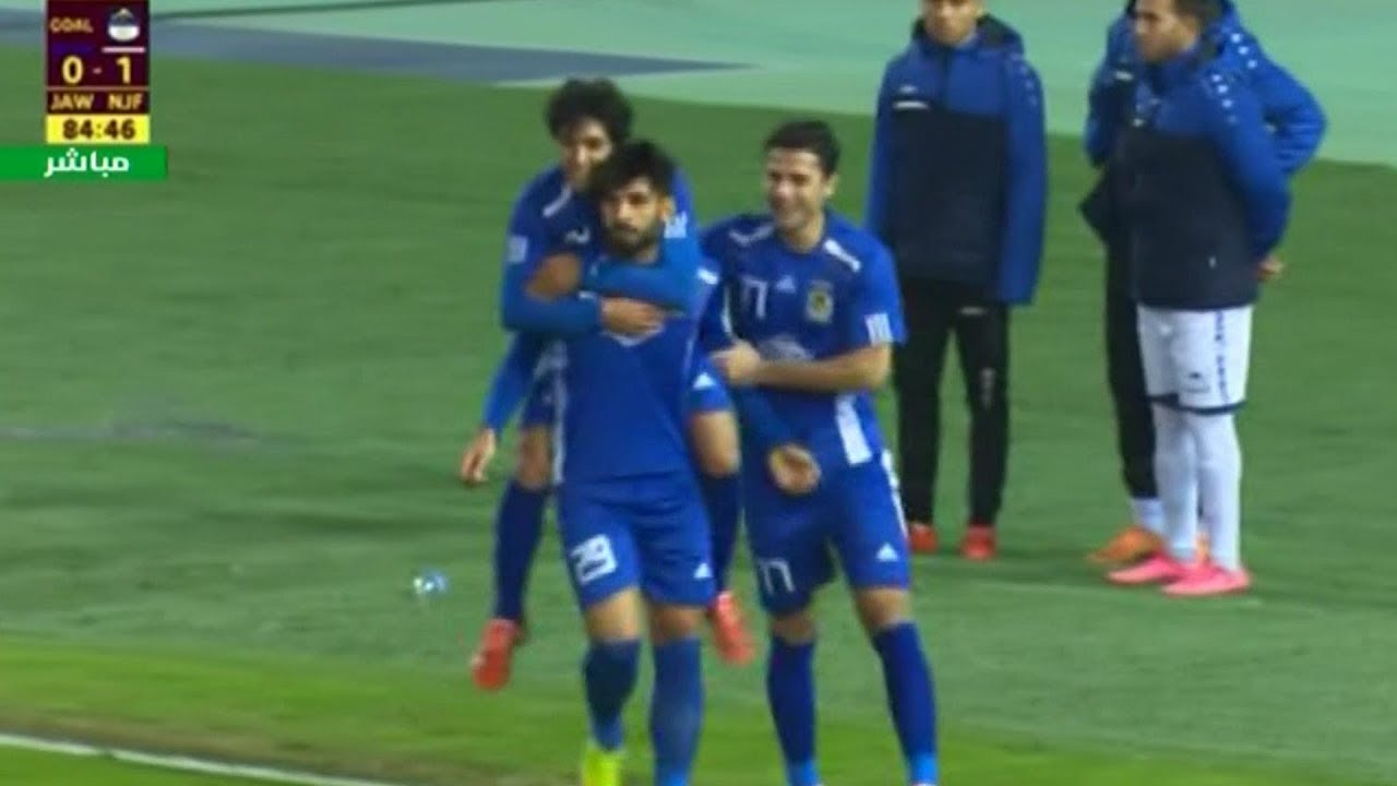 أهداف مباراة القوة الجوية 1-1 النجف | الدوري العراقي الممتاز 2018/12/7