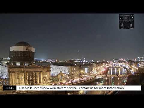 Dublin City Live Webcam - Usee.ie