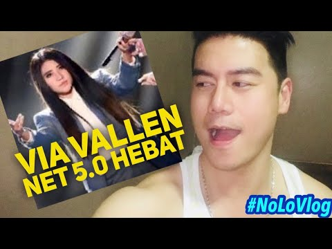HEBAT!!! VIA VALLEN NET 5.0 | SAYANG | INDONESIAN CHOICE AWARDS | Live Reaksi | NoLo Vlog