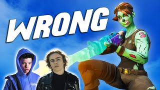 """Fortnite Montage - """"WRONG"""" (The Kid LAROI & Lil Mosey)"""
