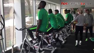 Super Eagles Training