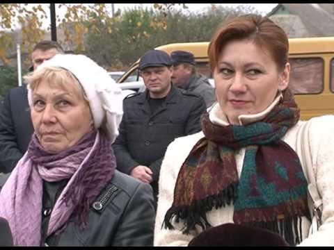 Открытие ДК в Красной Березовке