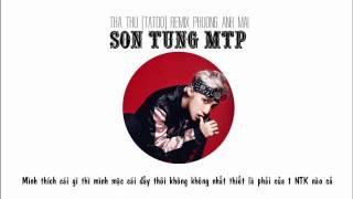 Sơn Tùng M TP - Tha Thu Tattoo -  Anh Cô Đơn Quá - 1 Hour EDM Sơn Tùng M TP